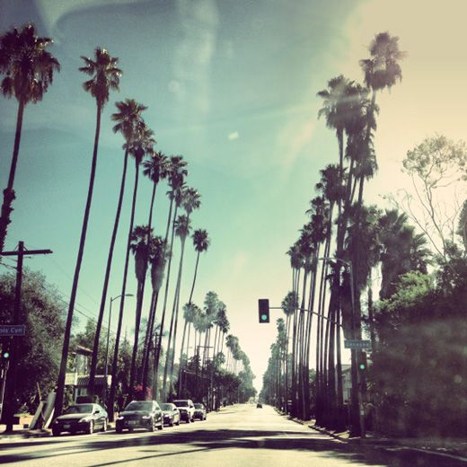 Beautiful blue hues in L.A.