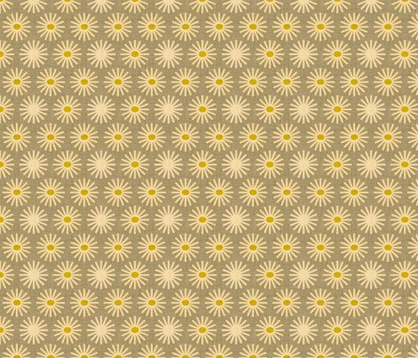 fireworks and sunflower fabric by holli_zollinger on Spoonflower - custom fabric