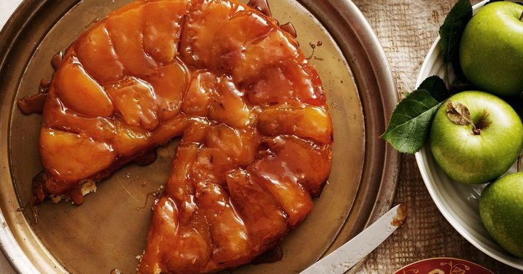 Who knew an upside-down accident could be this good? This easy French classic takes sticky caramelised apples and buttery pastry to new heights.
