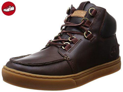 Timberland Earthkeepers Newmarket Moc Toe Boots Sneakers Schnürschuhe Herren (42, Dunkelbraun) - Timberland schuhe (*Partner-Link)
