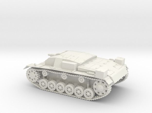 Stug III Ausf A 1:48 28mm Wargames