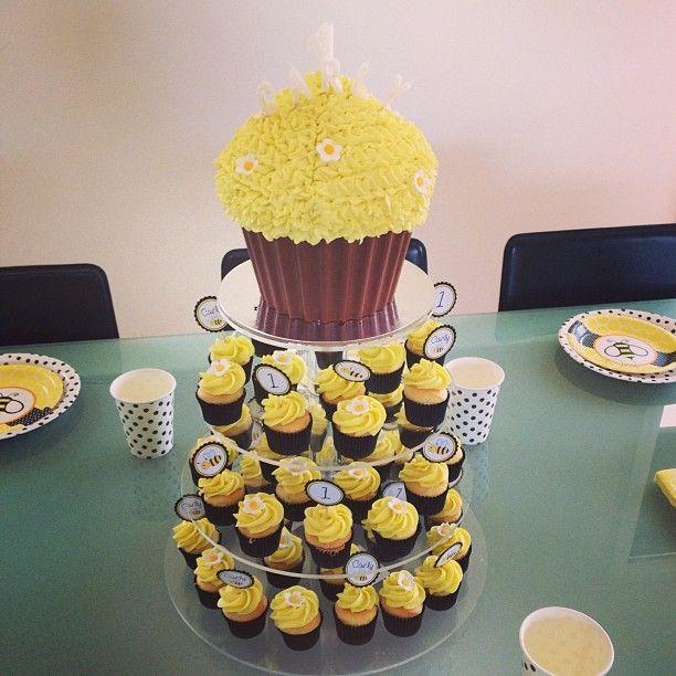 Giant Cupcake Birthday Cake Melbourne
