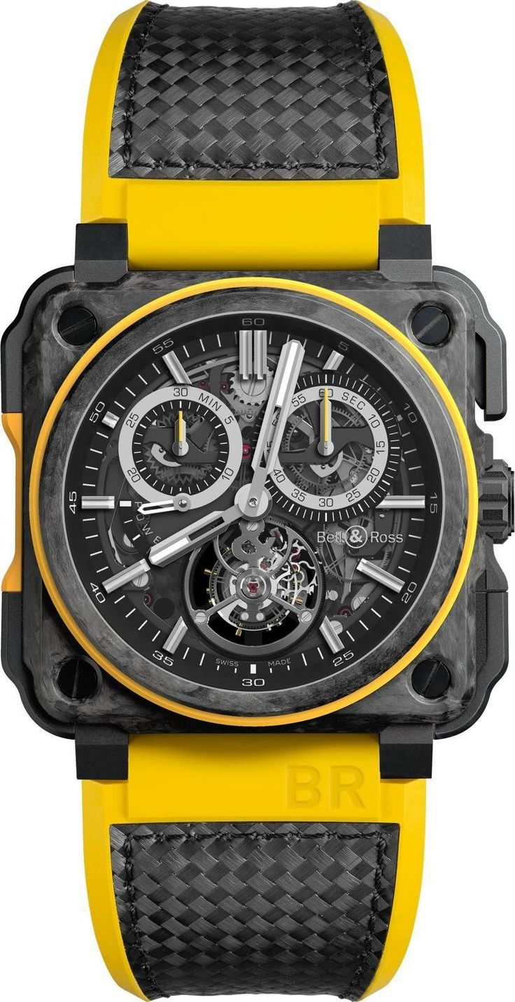 TimeZone : Industry News » N E W M o d e l s - Bell & Ross BR-X1 Collection for Renault