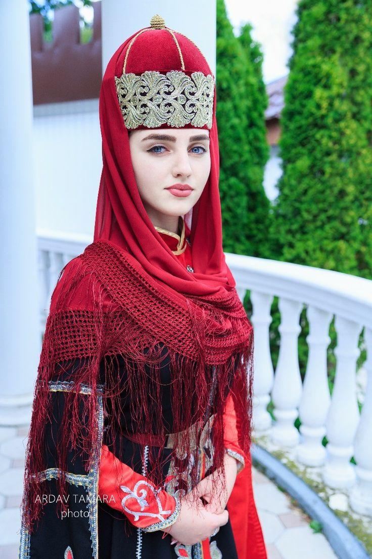 Circassian girl in traditional circassian dress #photoset ...