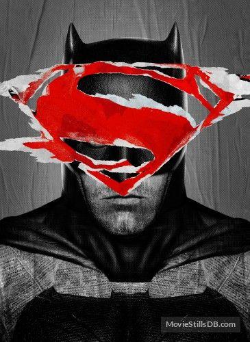 Batman vs. Superman - Promotional art with Ben Affleck