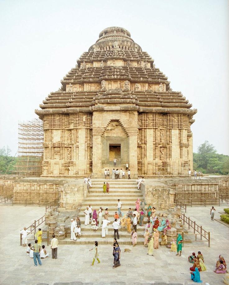 Konark Sun Temple in Odisha, #India, an UNESCO World Heritage site.