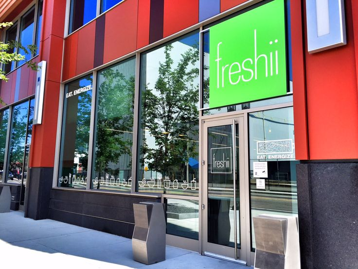 1 Iron Street, 857-496-0656  Freshii offers everything from breakfast to lunch, catering, juices, smoothies and a full Flat Black (Dorchester's own) coffee bar! They have a quick online ordering system at www.freshii.com or customer's can even call in their order. Hours:Mon through Fri from 7:00am-4:00pm.