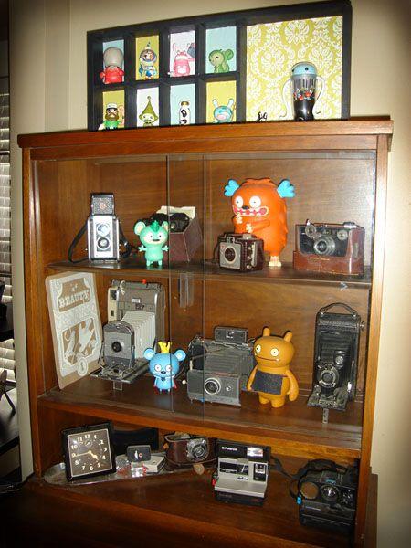 Vinyl toy display