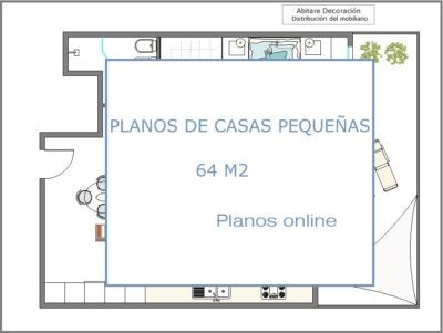 Abitare Decoración PLANOS ONLINE   PLANOS DE CASAS PEQUEÑAS