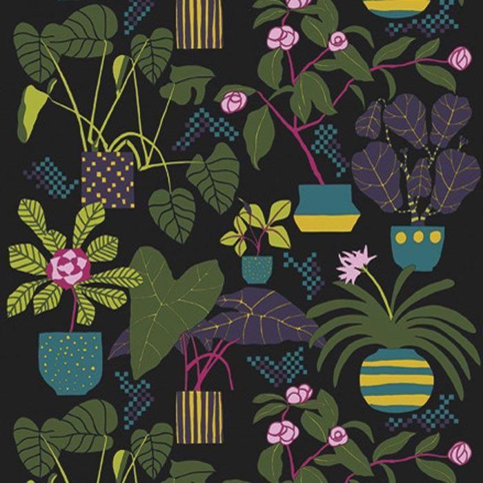 Ikkunaprinssi Wallpaper in Multi – Bolt of Cloth