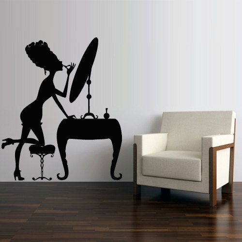 Best Pretty Wall Decals Images On Pinterest - How to make vinyl wall decals with silhouette