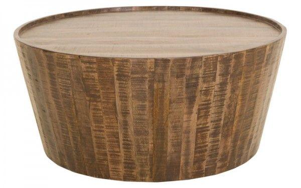 Village Coffee Table Round Chocolate   OZ Design Furniture & Homewares