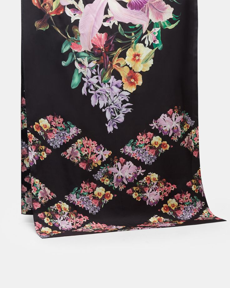 LAICY Lost Gardens silk scarf #TedToToe