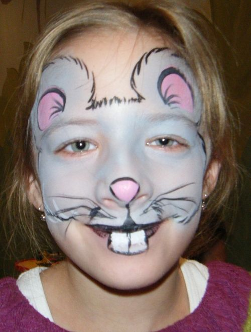 Mouse Face Painting | Mouse Face Paint