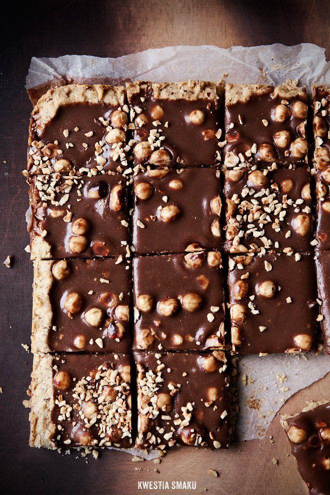 Mazurek Gianduia - Hazelnut and Milk Chocolate Cake