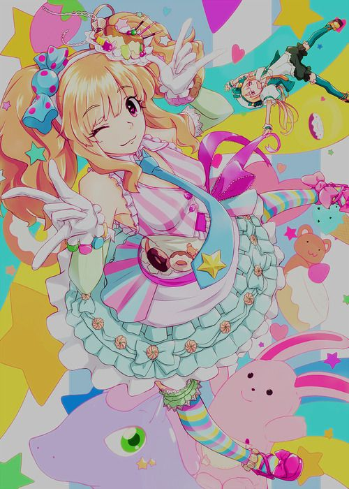 52 Best Images About Colorful Anime On Pinterest Green Colorful Anime