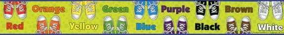 Peace, Love and Learning: Pete the Cat border at Dollar Tree
