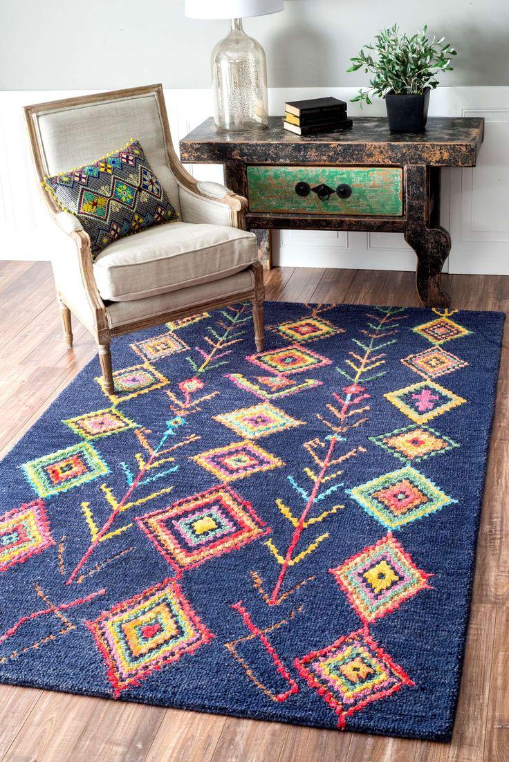 diamond sm18 rug - Colorful Area Rugs