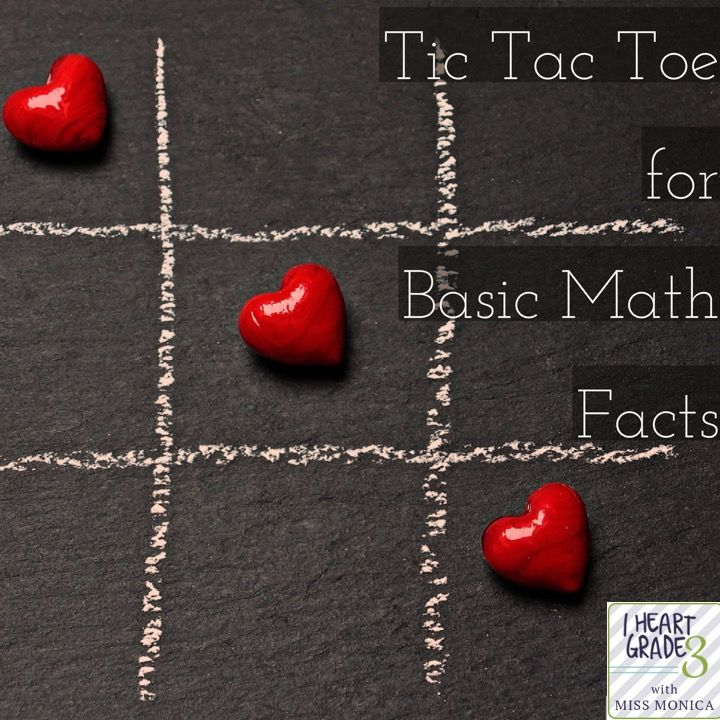 Using Tic Tac Toe to Practice Basic Facts