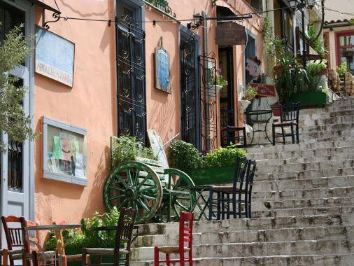 Plaka in Athens under the Acropolis Hill. www.triphelp.co.uk #Athens…