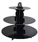 Black Cardboard Cupcake Stand
