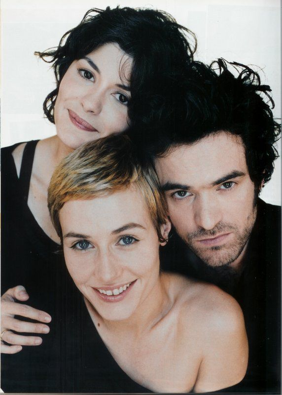 El talento, en estado puro... Audrey Tautou, Romain Duris y Cecile de France.