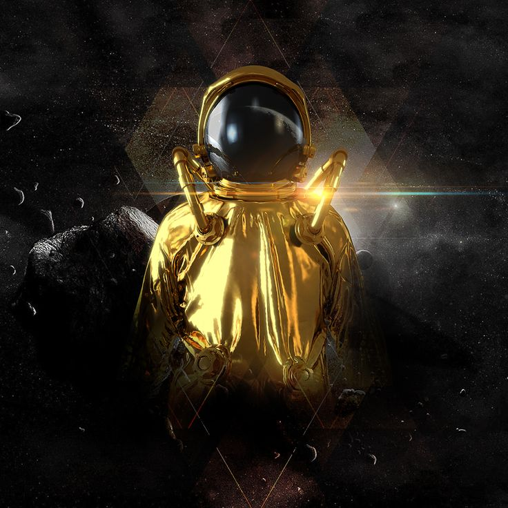 Gold astronaut  #3d #cinema4d #render #day #instalike #3dmodel #artdirection #texture #dailyrender #astronaut #space #digartshare #photocomposition #illumination #digitalart #design #reflections #reflectance #composition #daily #adobe #graphic #reflections #texture #photoshop #gold Inspired in the Model of raoulmarks