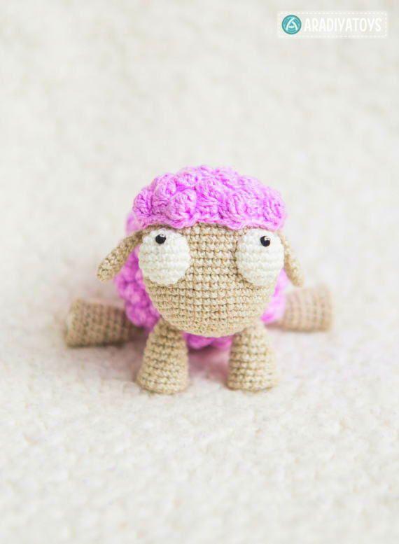 Amigurumi Sheep Pattern | Modelos de crochê, Artesanato croche ... | 777x570