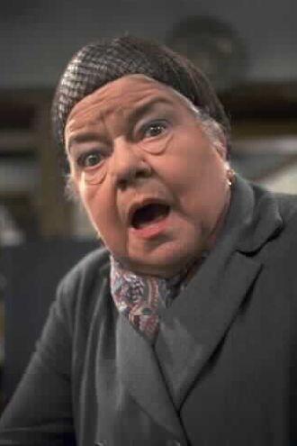 Ena Sharples - played by the wonderful Violet Carson