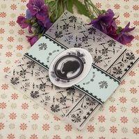 Donna chiaro timbro/Fiorire di plastica In Rilievo modello per DIY Scrapbooking/album di foto Carte Decorative Goffratura di Carta FAI DA TE