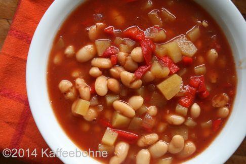 Serbische Bohnensuppe Crockpot