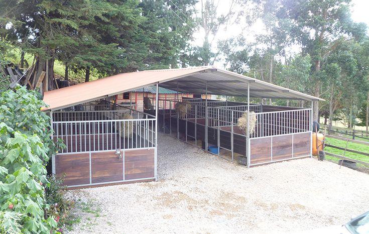 POrtable stables. Pesebreras Portatiles