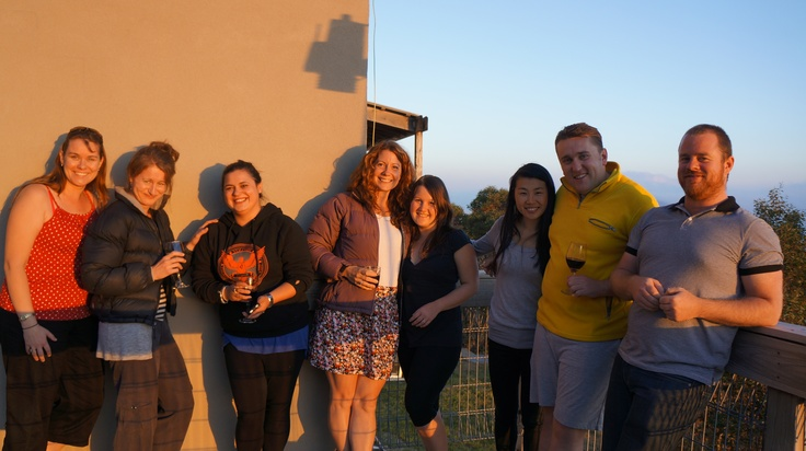 The team at Mt Hotham, January 2013