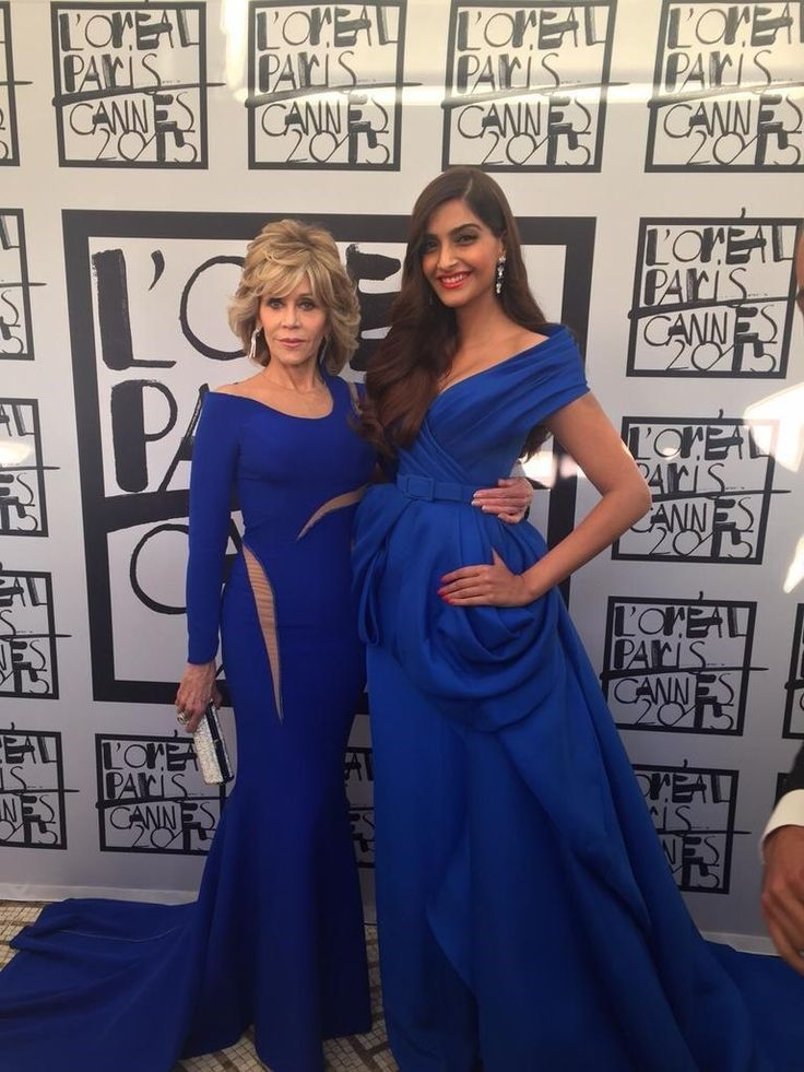 Sonam Kapoor-Cannes 2015