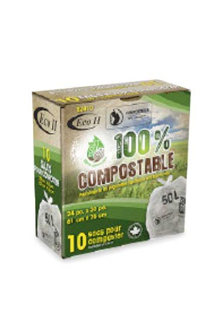 Compostable Kitchen Garbage Bags 24 x 30: Garbage bags 24 X 30 for compost trash