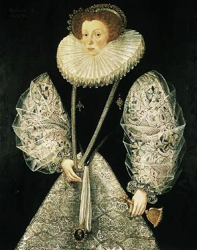 Reinette: English Portraits from 1540-1630: Mary Cornwallis, Countess of Bath,1580-85