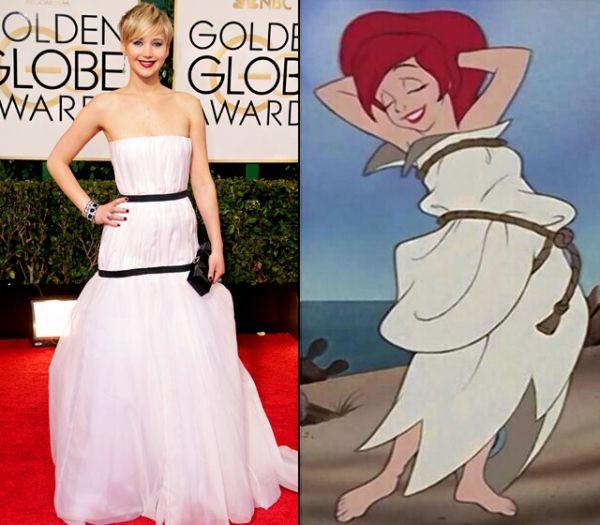Disney hercegnők ihlette ruhákban a Golden Globe sztárjai / JOY.hu