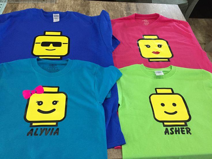 Lego Land Theme Park or Birthday Lego Block Head Family Shirts (Mom, Dad, Kids Lego Shirts) by AshAlyDesigns on Etsy https://www.etsy.com/listing/530993879/lego-land-theme-park-or-birthday-lego