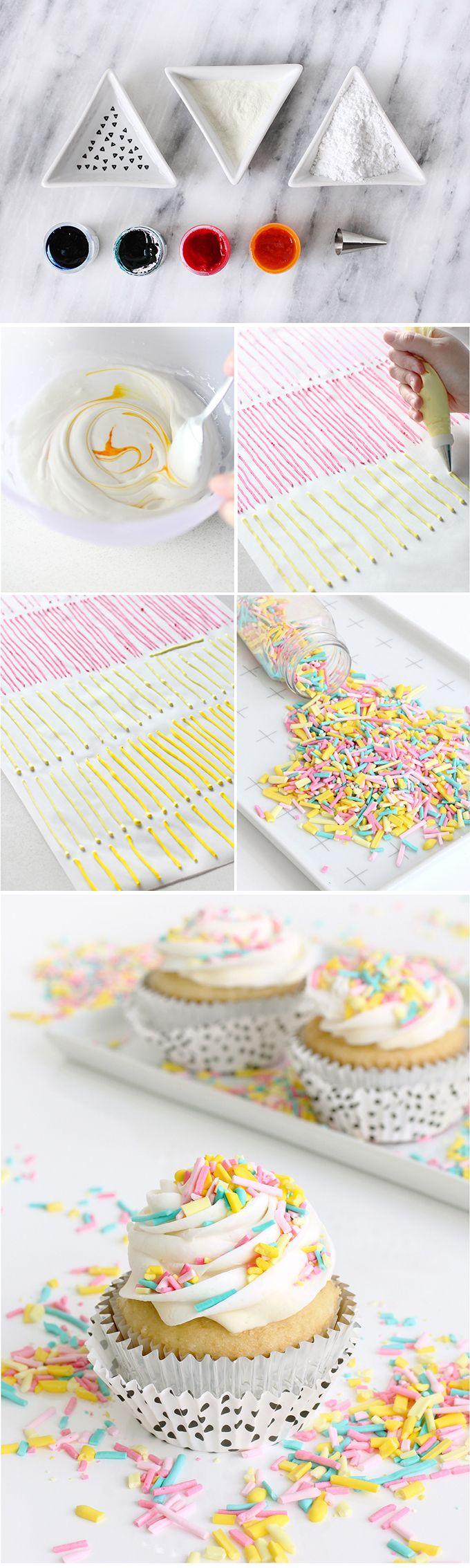 DIY SWEETS | Homemade Sprinkles