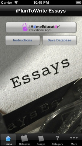 Grouping texts for essays