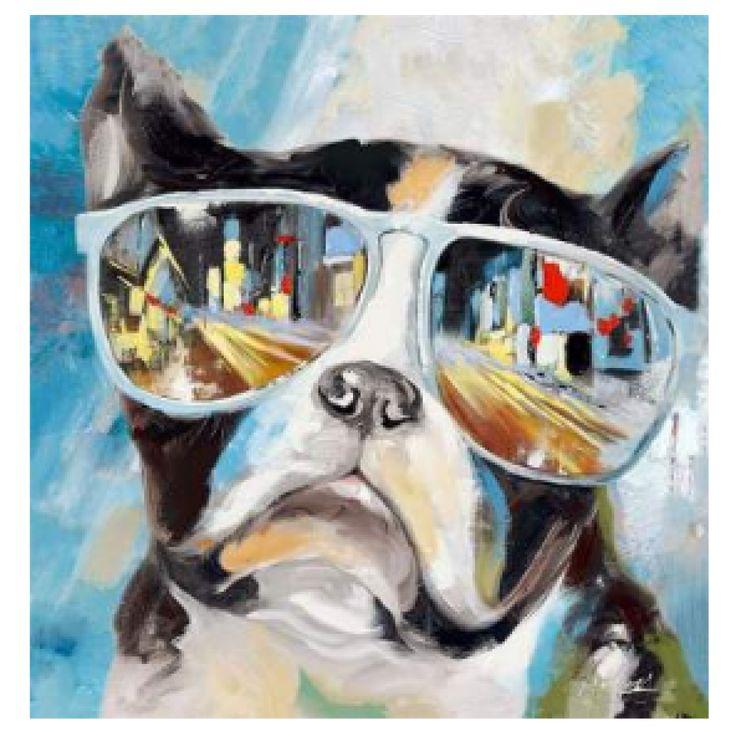 De notre vaste sélection de canevas, découvrez la collection colorée et originale de canevas chien et oser pimenter votre décor.