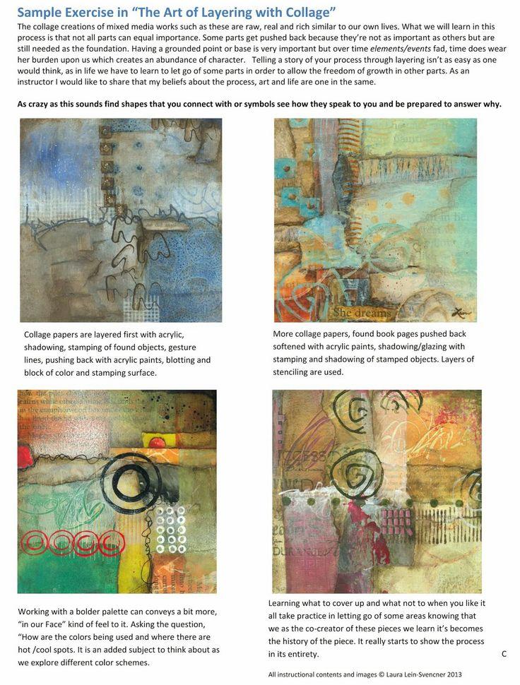 Collage techniques of Laura Lein-Svencner