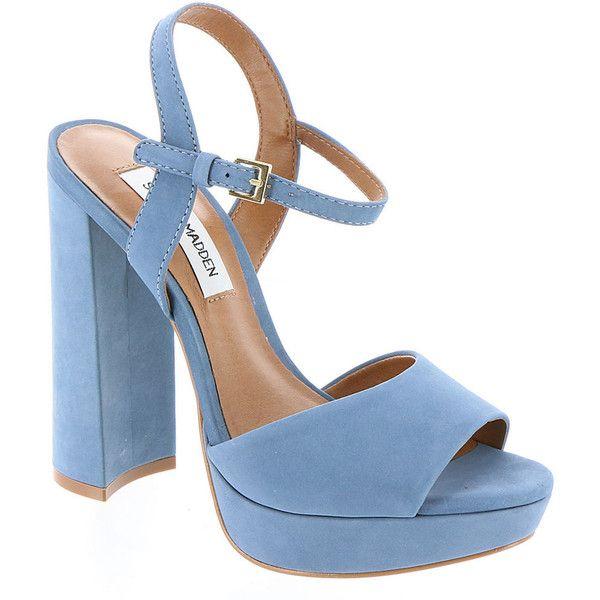 Steve Madden Kierra (325 BRL) ❤ liked on Polyvore featuring shoes, light blue, light blue shoes, steve madden, steve madden footwear and steve-madden shoes