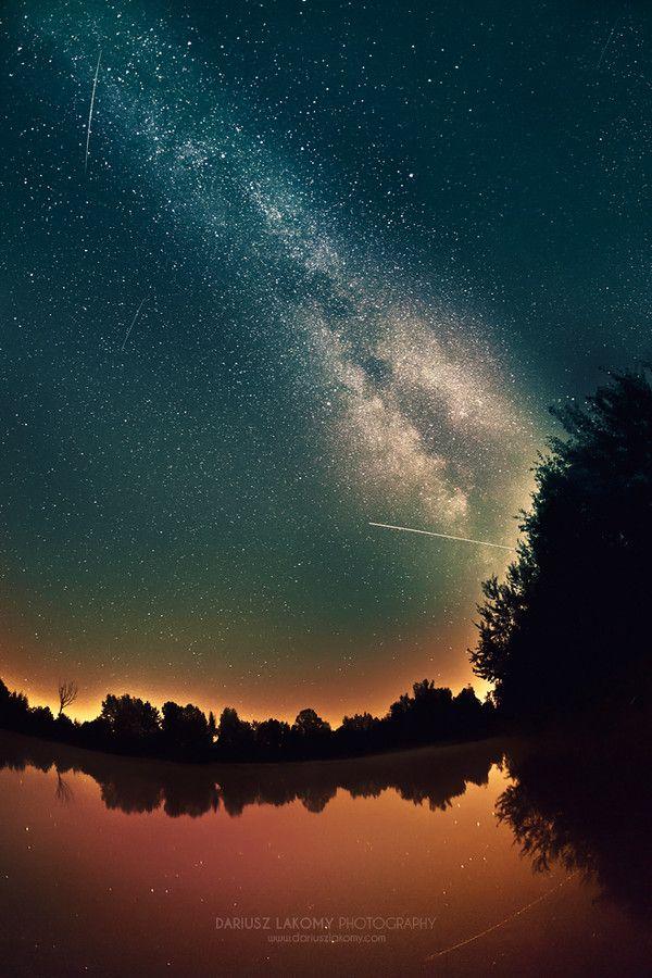 Trip To Milky Way & Falling Stars