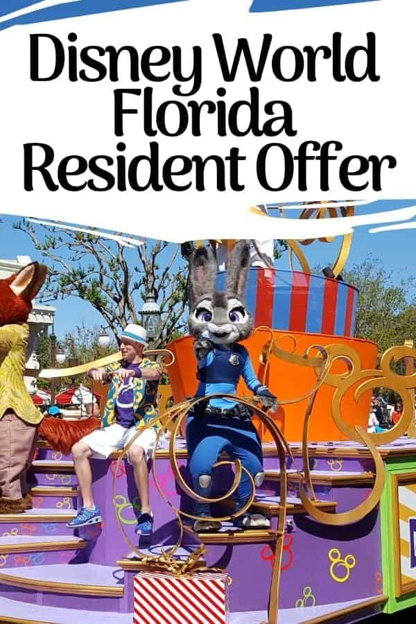 Walt Disney World Florida Resident Tickets Special Offers Disney World Florida Resident Disney World Florida Disney Florida Resident