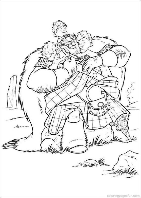 Brave Coloring Page 79 Is A From BookLet Your Children Express Their Imagination When They Color The