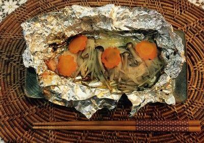 71_鮭のホイル焼き バター醤油