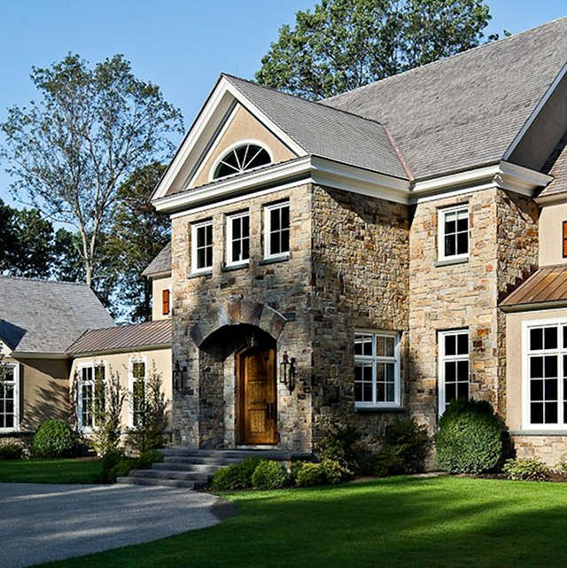 Stone Exterior Homes: 77 Best Images About Exterior On Pinterest