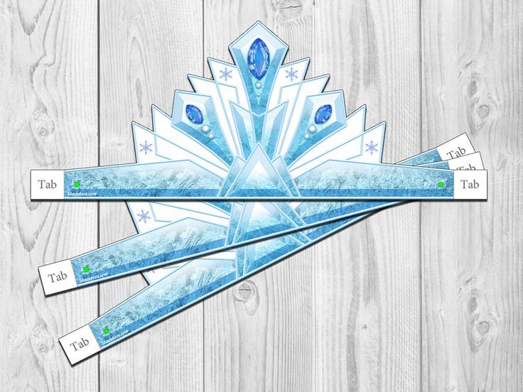 Frozen Ice Princess Party Crown Disney S Frozen Party Frozen Princess Pictures Printable