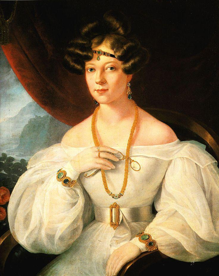 Barabás Miklós-Női arckép (1831)